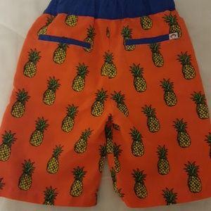 629f9cb68f329 Appaman Swim - Appaman boys pineapple swim trunks
